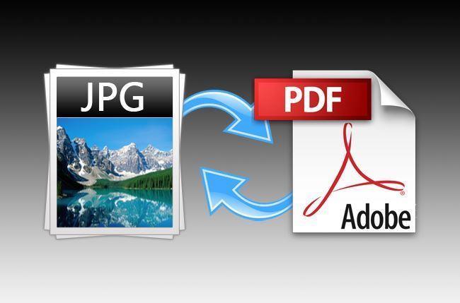 File JPG menjadi PDF