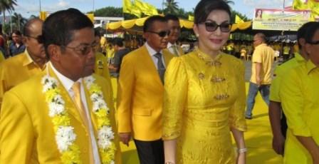 Idrus Marham Targetkan 60% Kemenangan PG di Sulut kepada Tetty Parutu