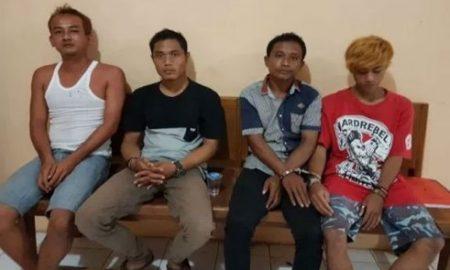 Empat Pengedar Obat Daftar G Di Tangkap Unit Reskrim Polsek Muncar