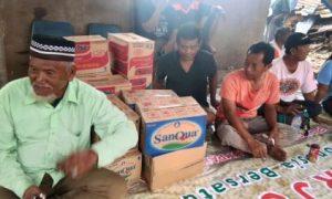 FORWAT Tangerang Beri Bantuan Kepada Warga Korban Gusuran
