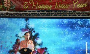 Presiden Jokowi : Natal Harus jadi Momentum Pembawa Semangat Perubahan