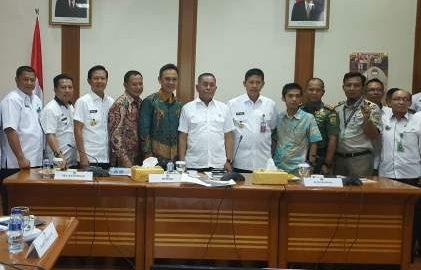 Rapat Rencana Pembangunan Kawasan Industri Pertahanan di Tanggamus
