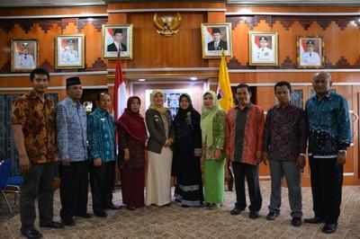 Bupati Lampung Timur terima audiensi dari Civitas IAIN Metro