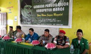 Pimpinan Cabang GP Anshor Maros Gelar Diklat Terpadu Dasar Angkatan ke-2