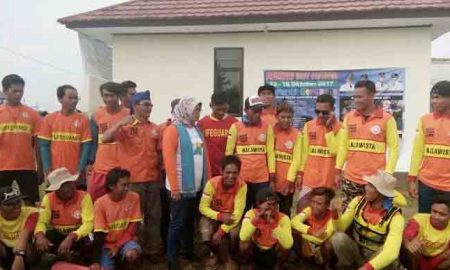 Ket Photo bersama komandan dan anggota Balawista