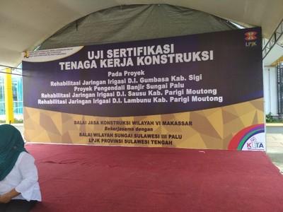 Balai Jasa Konstruksi Wilayah VI Makassar Laksanakan Uji Sertifikasi Tenaga Kerja Konstruksi