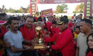 PS Duri Juarai Bupati Rohil Cup 2018