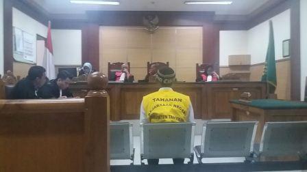 Curi Tali Pocong, Supir Angkot Divonis 1 Tahun Penjara