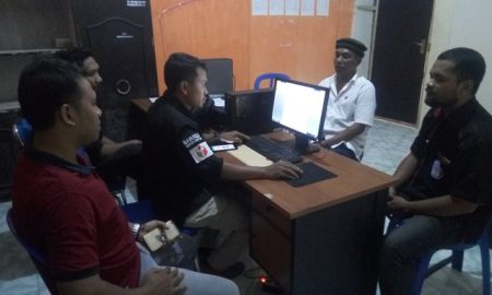 Relawan Pasek Lombok Resmi Laporkan Perusakan Gambar Cagub Ali-Sakti