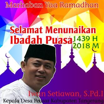 Selamat Melaksanakan Puasa Ramadhan Kades Peusar