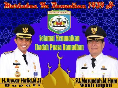 Selamat Melaksanakan Puasa Ramadhan Morowali