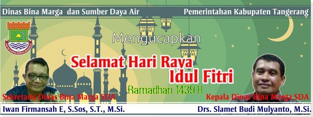 Selamat Hari Raya Idul Fitri BMSDA