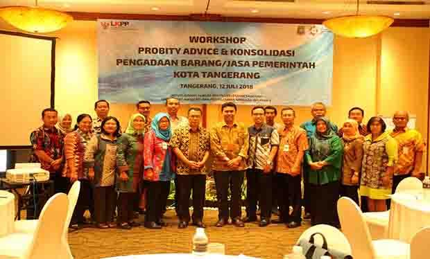LKKP Gelar Workshop Probity Advice