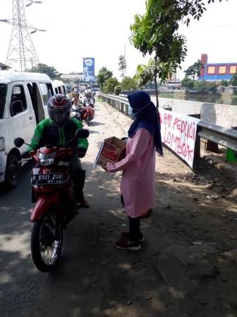 HMI Galang Dana Gempa NTB