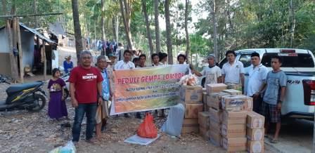 IKA Unram Galang Sumbangan Nasional Untuk Gempa KLU