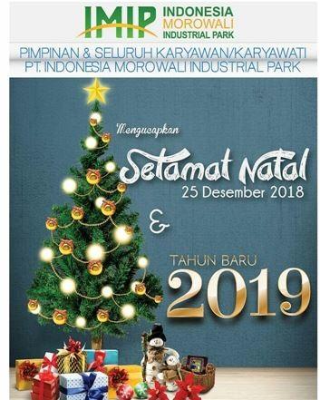 Iklan Natal PT IMIP