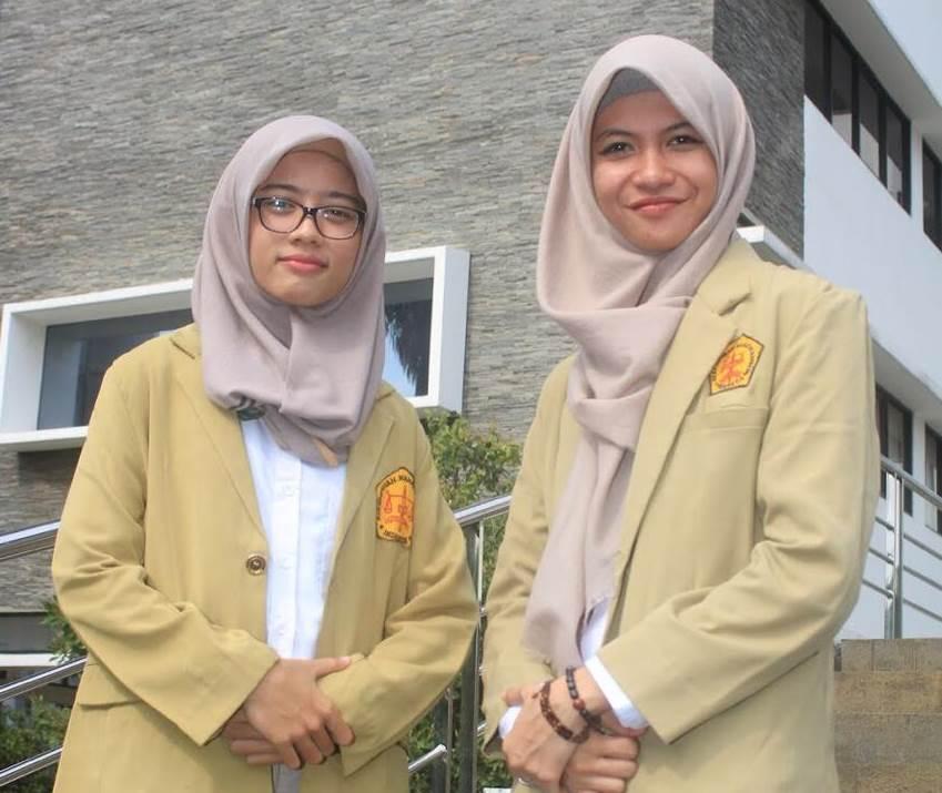 Foto:  Athari Farhani dan Faiqah Nur Aziah (Ketua umum dan Sekretaris Jendral Dewan Pimpinan Cabang Perhimpunan Mahasiswa Hukum Indonesia /PERMAHI Tangerang).