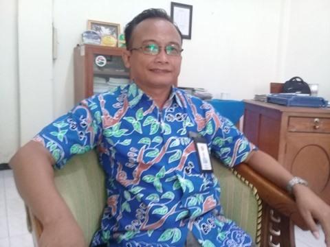 Foto: KTU PTPN XII, Budianto saat ditemui di ruangannya.