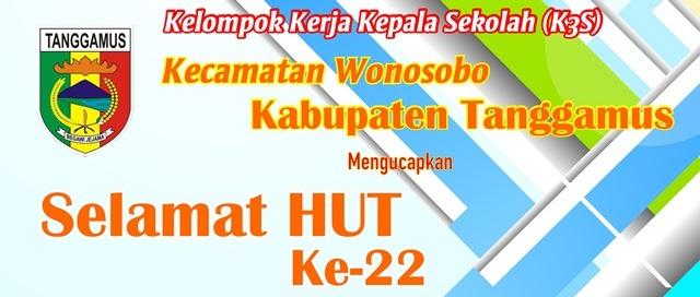 Iklan HUT Kabupaten Tanggamus ke-22 K3s
