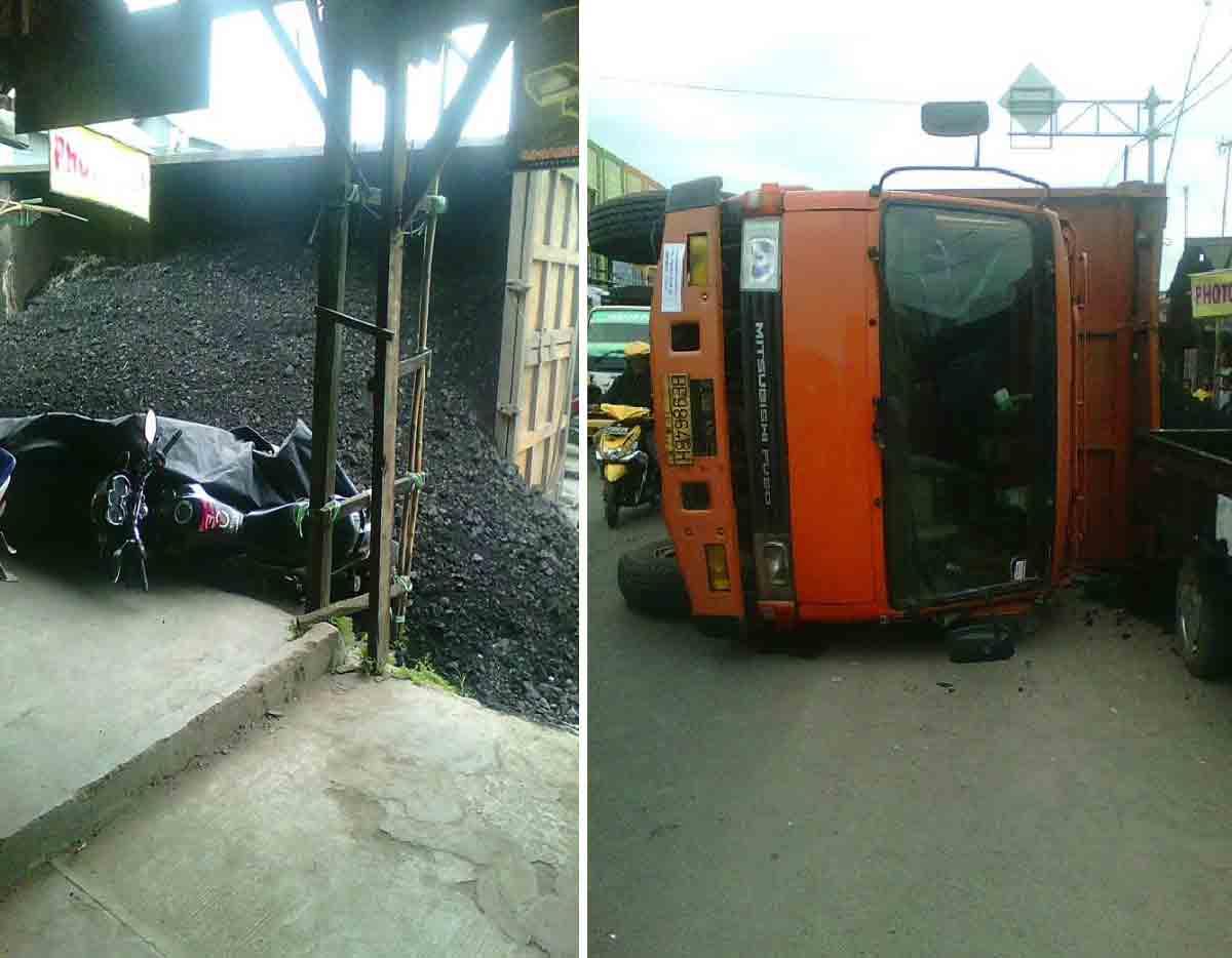 Truck pengangkut Batu bara