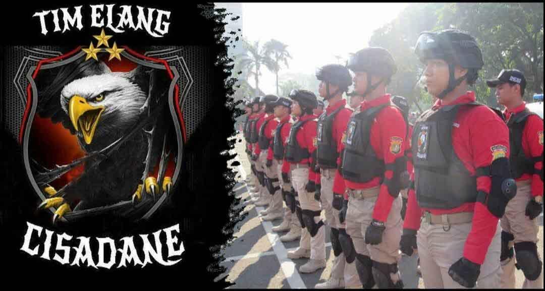 Pengukuhan Team Elang Cisadane Polres Metro Tangerang Kota
