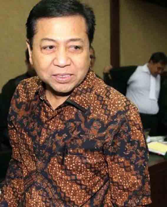 Setya Novanto Ditetapkan Menjadi Tersangka Lagi