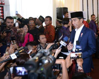 Jokowi Haturkan Terima Kasih