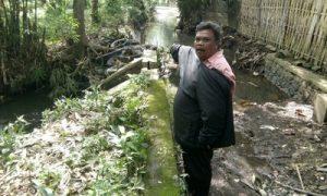 Bangunan Irigasi di Dusun Sumber Wadung Ambrol, Namun belum Ada Perhatian dari Pihak Terkait