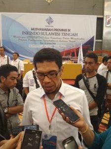 Ketua DPP Inkindo Sulawesi Tengah, Gufran Ahmad.