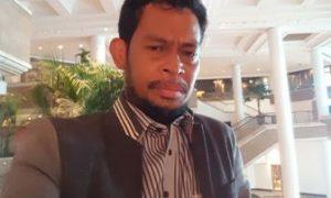 Muhammad Jembar selaku Ketua Aliansi Kotak Kosong