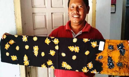Batik Motif Bungo