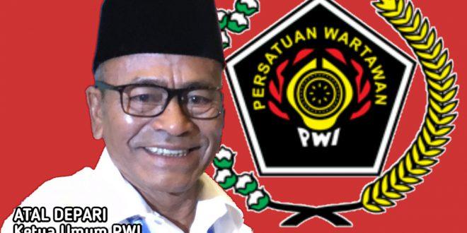 Foto: Ketua Umum PWI: Atal Sembiring Depari.