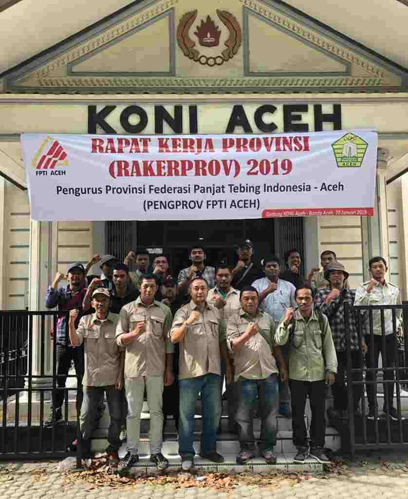Colorado Bengkulu: FPTI Aceh Siap Raih Prestasi Di Porwil Sumatera 2019