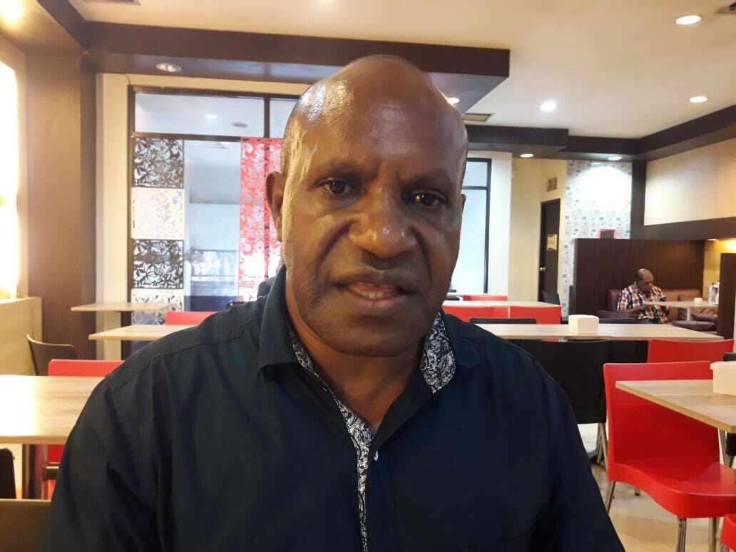 Foto: Sekretaris I DPD Partai Berkarya, Decky Nawipa.