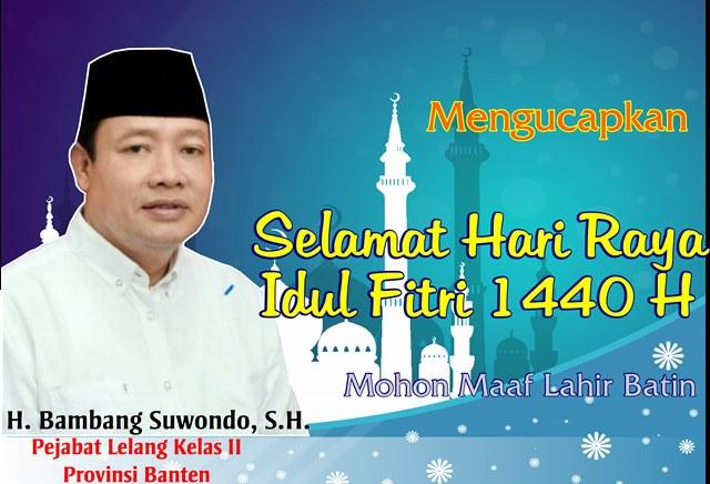 Iklan Ucapan Idul Fitri Bambang Suwondo
