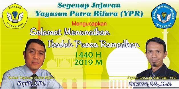 Iklan Ucapan Puasa Yayasan YPR