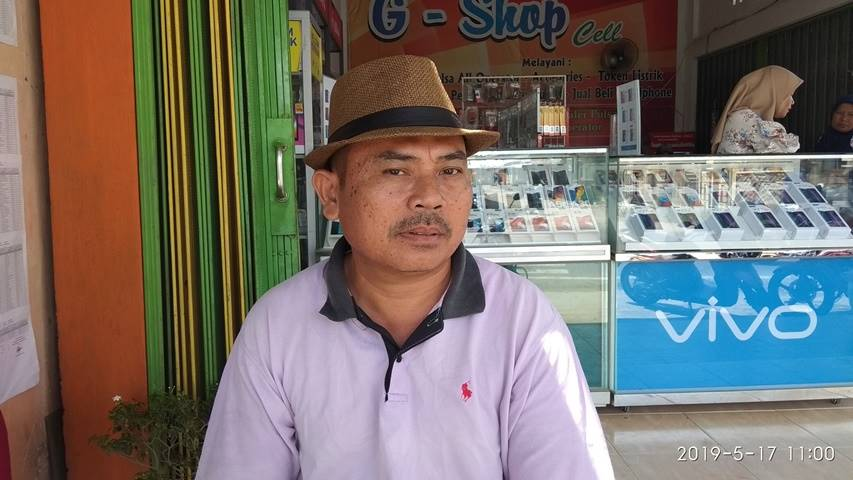 Foto: Kepala Desa Mandiangin, Aidil Sadri.