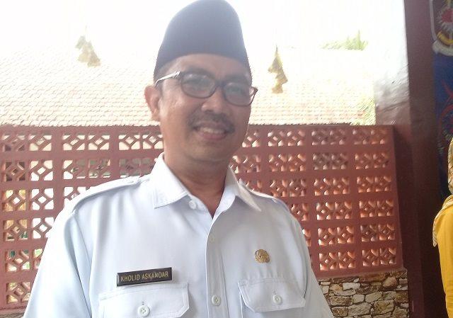 Photo Camat Sempu, Akhmad Kholid Askandar.