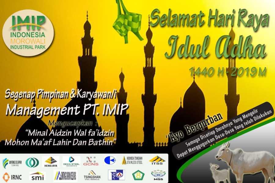 Iklan Aidul Adha PT IMIP