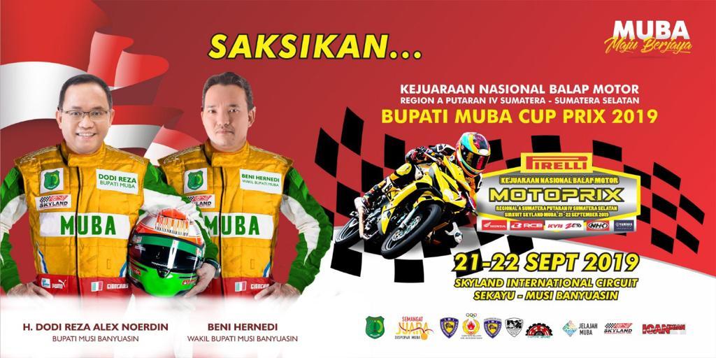 Iklan Bupati Muba Cup Prix 2019