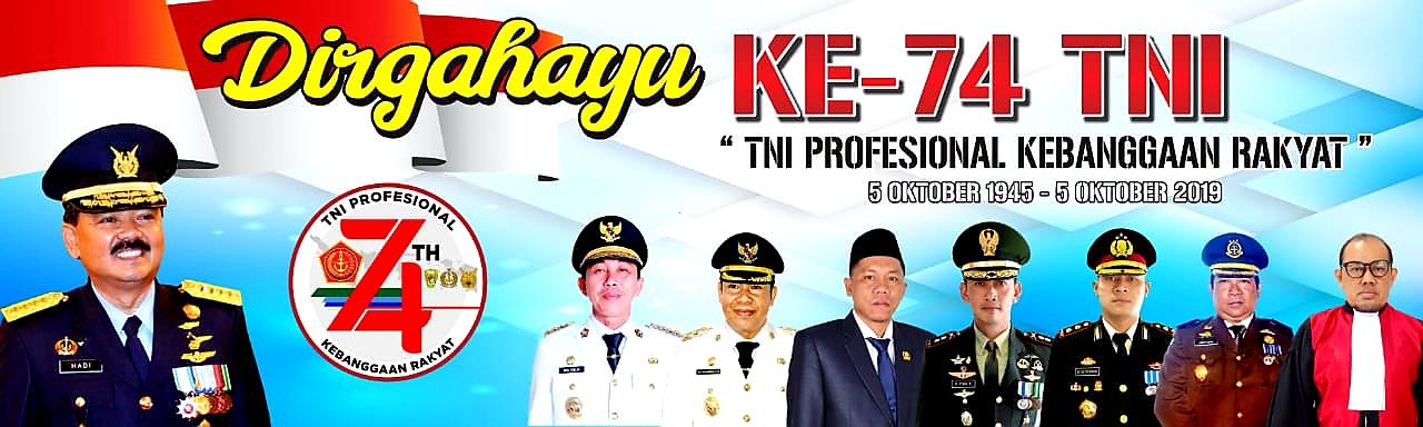 Iklan HUT TNI ke-74 Morowali