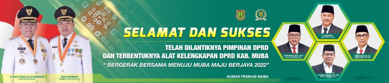 Iklan Muba Pelantikan Muba DPRD