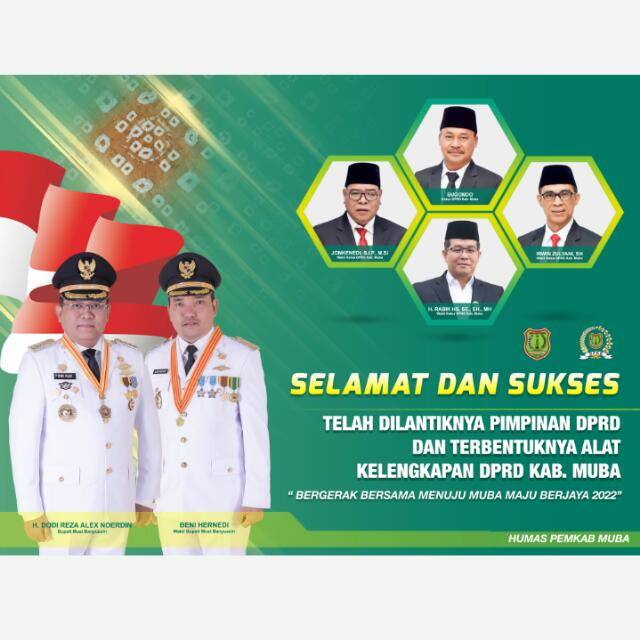 Pelantikan DPRD Pemkab Muba