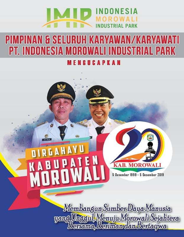 HUT Morowali PT IMIP