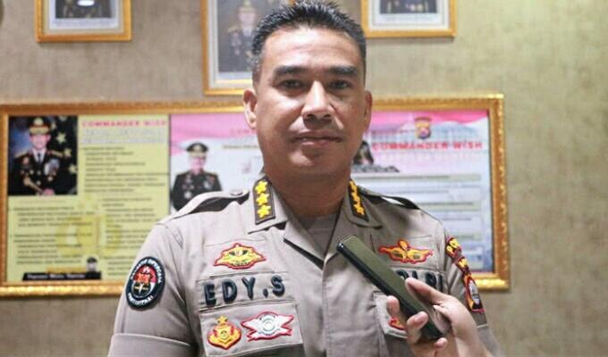 Photo Kabidhumas Polda Banten, Kombes Pol Edy Sumardi.