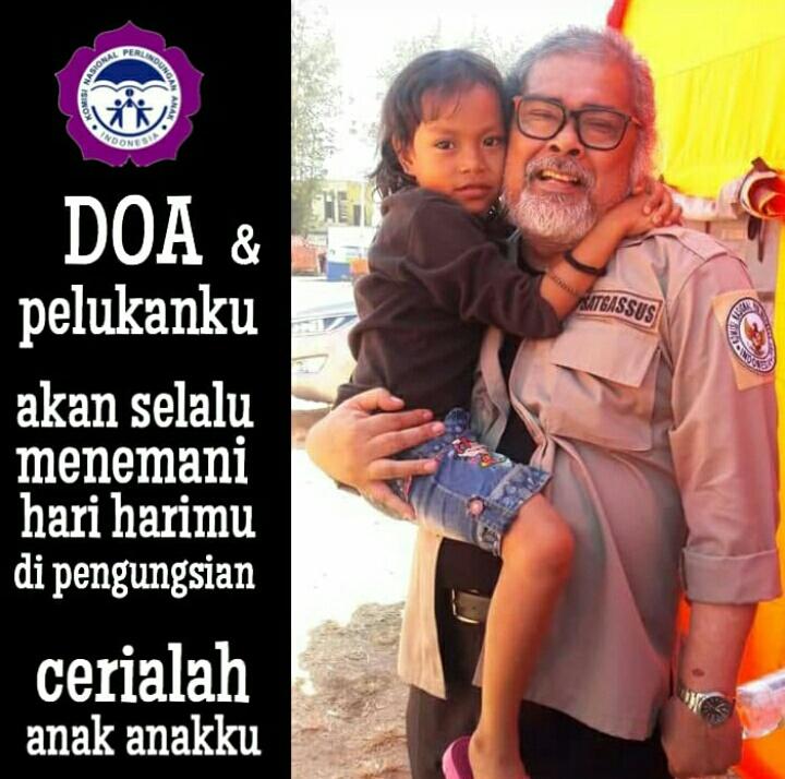 Arist Merdeka Sirait Ketua Umum Komnas Perlindungan Anak Indonesia.