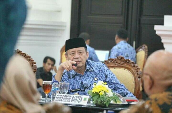 Photo Gubenur Banten Wahidin Halim.