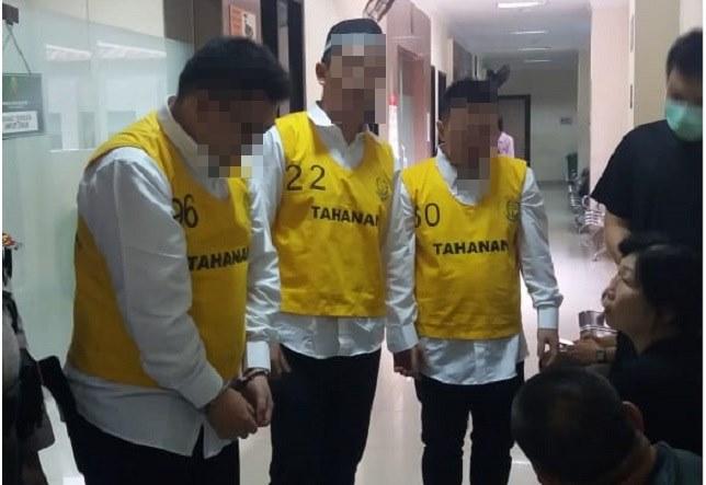 Tiga pelaku rekondisi iPone mulai disidangkan di PN.Tangerang, Kamis 13 / 2 / 2020