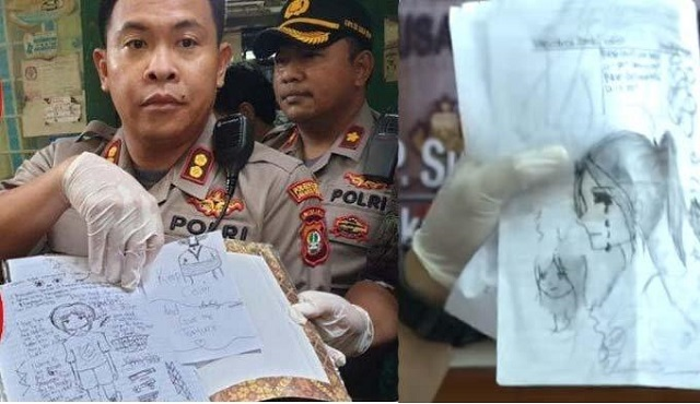 WAKAPOLRES Metro Jakarta Pusat AKBP Susatyo Purnomo memberikan keterangan pers di Mapolres Jakarta.