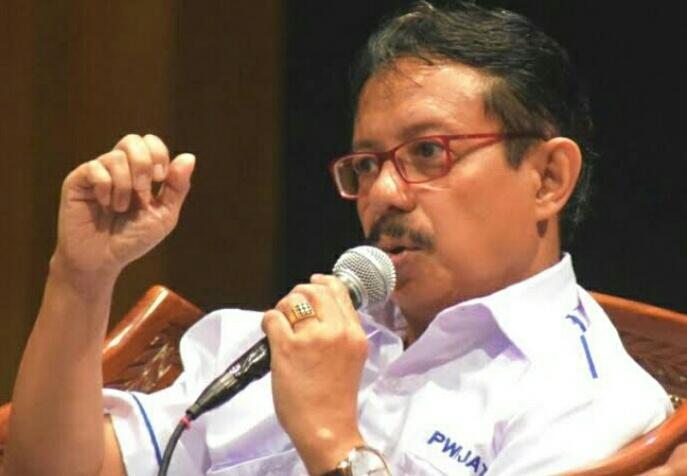 mir Machmud NS, wartawan SUARABARU.ID dan Ketua PWI Provinsi Jawa Tengah